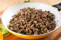 Dukan Diet - Attack Phase - Curried Ground Beef