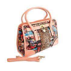 Pink Leopard Michelle Obama Tote Michelle Obama, West Palm Beach Florida, Cute Boutiques, Pink Leopard, Print Magazine, Tote Handbags, Vegan Leather, Shoulder Strap, Fashion Jewelry