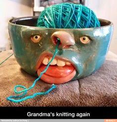 Grandma's knitting again
