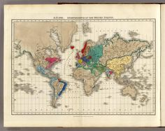 1783 World Map.  Can you spot the one any only Representative Constitutional Republic on Earth?  (Hint: it's in the northern portion of the western hemisphere look on the east coast- It's a Confederation of 13 formerly British colonies)