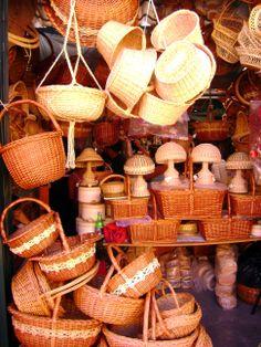 Handicraft market, Tequisquiapan, Queretaro, Mexico
