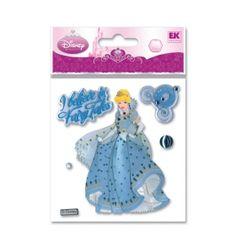 Disney scrapbooking sticker Cinderella item DPJSC.    $1.50