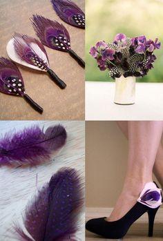 Purple Peacock Feathers!!