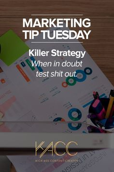 It's pertinent to test your marketing efforts. How else will you know if what you're doing is working? #MarketingTipTuesday  #marketing #marketingtips #marketingtip #businesstip #businesstips #businessowner #marketingstrategy #testitout #abtesting #advertising #killerstrategy #tipoftheday #quoteme #quoteoftheday #quotestoliveby #copywriter #copywriting #brandstrategy #brandstrategist