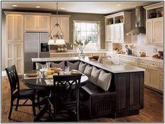 Kitchen Island Dining Table Combo | Okindoor.com