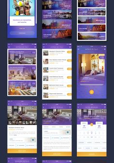 The QuickBook App UI KIT has been designed with the concept of simple, fast & secure hotel searching & booking for iOS platform. It has 17 uniquely designed & well organized iOS mobile screen templates. It is a modern, trendy & colorful UI Kit for building your own hotel booking app.  Well organized & very easy to customize, QuickBook App UI KIT is a better solution for your next hotel booking iOS app. All images used here are just for preview purpose only & they are...