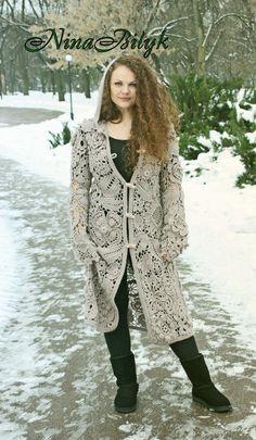 Пальто Жемчужное от AlisaSonya на Etsy