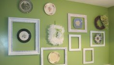 Shabby Chic wall for kitchen