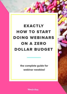 Webinars for Newbies (The Complete Guide to Getting Started!)