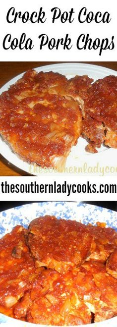 Crock Pot Coca Cola Pork Chops