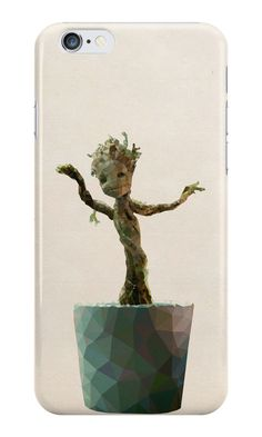 """Baby Groot from Guardians of the Galaxy"" iPhone Cases & Skins by pop-lygons 