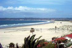 According to Dr. Beach (a coastal expert) Coronado Beach, CA. is the number  beach in the U.S for 2012