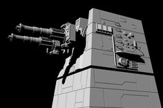 Build a 3D Death Star laser tower model. Follow the steps to replicate the intricate model design. http://www.tested.com/art/makers/569822-building-studio-scale-death-star-laser-tower-model-part-1/