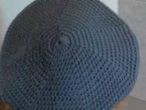 basco in lana merino grigio