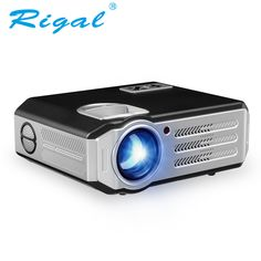 Rigal RD817 HD Projector 3500 Lumens Support 1080P Proyector For Home Theater LCD Beamer With HDMI USB VGA AV Video Projector