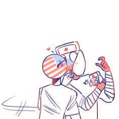 blacklightneko said: For Russia: r u and America dating? Human App, Fanfiction, Gravity Falls Art, Bendy And The Ink Machine, Country Art, Cute Chibi, Disney Memes, Ship Art, Canadian Artists