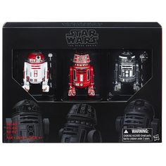 Star Wars the Black Series Astromech Droid 3 Pack SDCC Exclusive Free Shipping  #Hasbro