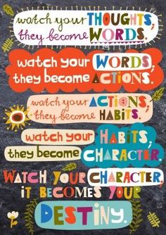Scholastic Classroom Resources Watch Your Thoughts POP Chart Encourage your students to think, dream, and do their best with these inspirational POP! Charts measure 13 x Classroom Quotes, Classroom Posters, Teacher Quotes, Classroom Resources, Classroom Motivational Posters, Teacher Signs, Quotes For Students, Quotes For Kids, Me Quotes
