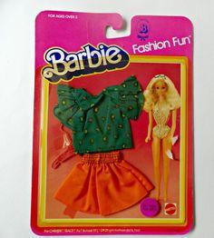 Vintage Barbie Fashion Fun Genuine Barbie Fashion 7502