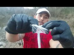 How to keep Chicken Liver on Your Hooks - NO FAIL -ORIGINAL liver bags - YouTube