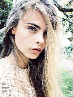 Vogue Spain Model: Cara Delevingne Photographer: Quentin de Briey Styled by: Marina Gallo