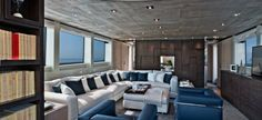 Interior San Lorenzo Yacht SL94