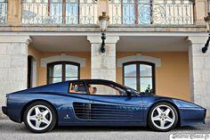 GlamCars — automotivated: Ferrari 512 TR (by. New Sports Cars, Classic Sports Cars, Sport Cars, Classic Cars, Porsche Classic, Ferrari Car, Unique Cars, Top Cars, Web Design