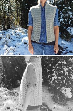 The vest that made me want to knit