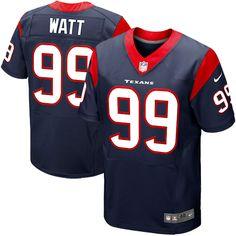 JJ Watt Houston Texans Nike Elite Jersey – Navy Blue -  294.99 Ramos c044117670c45