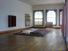 Donald Judd's Soho bedroom