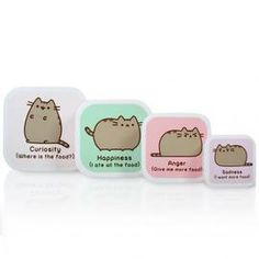 Pusheen – ToyRoo - Magical World of Toys! Snack Box, Lunch Box, Kawaii Panda, Gato Pusheen, Thing 1, Nesting Boxes, Food Storage, Snacks, Free Delivery