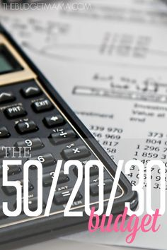 Ever wonder how those budget categories and percentages are supposed to work? The 50/20/30 budget formula is the simple simple approach to categories. Use it to make building your budget easier!