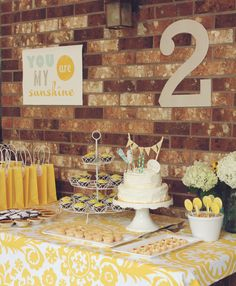 inBloom Studio: You are my sunshine party.