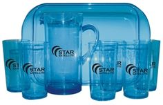 Patio Drink Set #PSET-1BL - For details on how to order this item with your logo branded on it contact ww.fivetwentyfour.ca