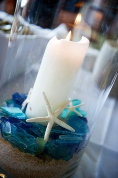 beachy centerpiece ideas - Google Search
