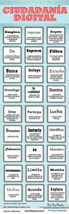 Ciudadanía Digital: algunas claves para tus alumnos