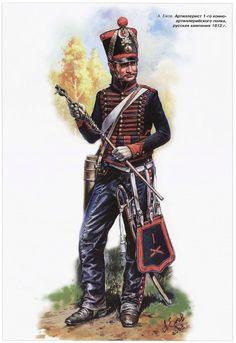Artigliere a cavallo della linea francese, Aleksandr Yezhov