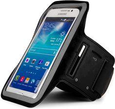 VG Smartphone Purple Leopard Bag Pouch w//Strap for ZTE Grand X Max