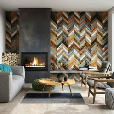 Now that's a feature wall!