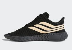 dfe2d12db The adidas Sobakov Appears In Black And Chalk Coral