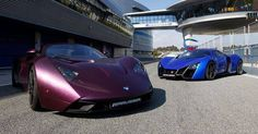 Marussia B1 and B2
