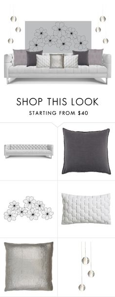 """""""Untitled #64"""" by aelgreen-1 on Polyvore featuring interior, interiors, interior design, home, home decor, interior decorating, Jonathan Adler, Pom Pom at Home, CB2 and Dransfield & Ross"""