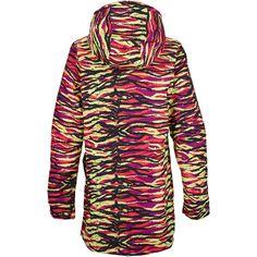 Burton Spectra Snowboard Jacket - Women's: Tropic Tiger Back