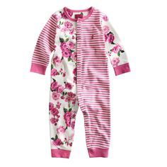 This is just SO cute. Floral baby onesie from #Joules stocked at #PrimaryColours #LymeRegis buy from us online at www.primarycolours.com