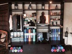 Yoga Studio Merchandise Display | California Closets