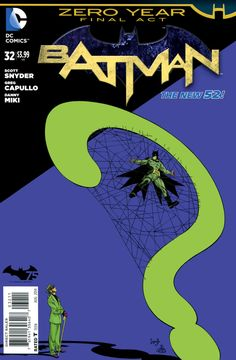 Batman #32 - Zero Year: Savage City, Part Three (Issue)