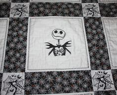 This Quilt Could Be Yours ~ a Nightmare Before Christmas themed ... : nightmare before christmas quilt - Adamdwight.com