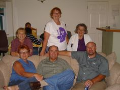 Sisters Sandy, Kathy and Judy with brothers Rich and Robert and our Mom