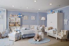 1000 images about bebe on pinterest quartos baby bedroom and puertas - Habitacion de bebe fotos ...