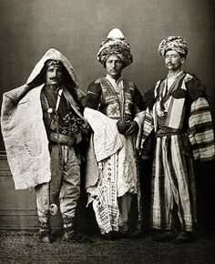 Kurdish costumes, 1873. Please like http://www.facebook.com/RagDollMagazine and follow @RagDollMagBlog @priscillacita